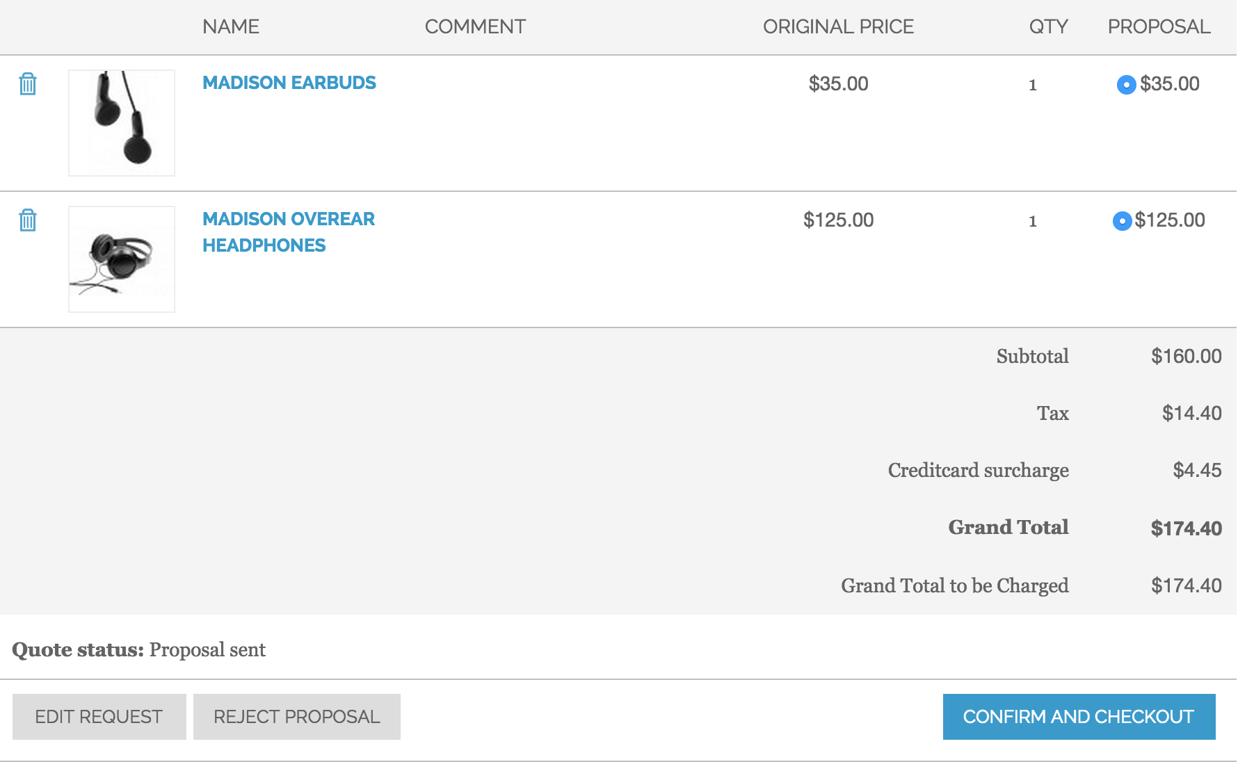Fooman surcharge, Cart2Quote and Magento?